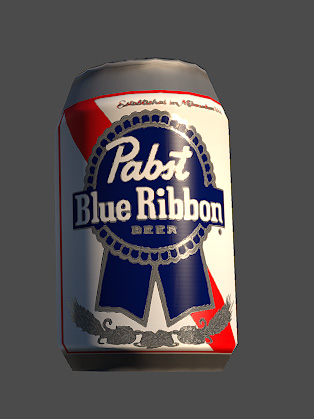 Pabst_Blue_Ribbon_3d_Model